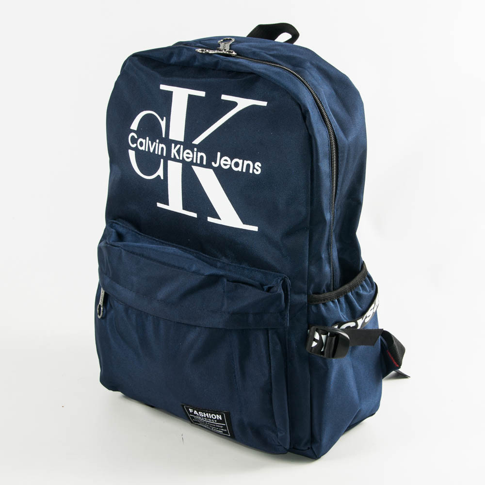 Оптом прогулочный/школьный рюкзак Calvin Klein Jeans - синий - СК95-1
