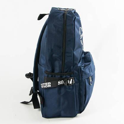 Оптом прогулочный/школьный рюкзак Calvin Klein Jeans - синий - СК95-1, фото 2