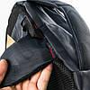 Оптом универсальный рюкзак для школы и прогулок - синий - 3002, фото 4
