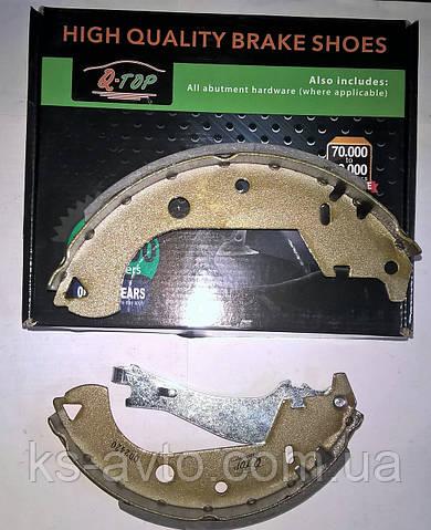 Тормозные колодки барабанные  FIAT DOBLO до 2005г 98845054