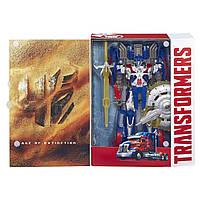 Игрушка Оптимус Прайм 25СМ - Optimus Prime, TF4, Leader, First Edition, Hasbro