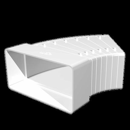 Арт. 612КРП Колена разноугловые горизонтальные 60х120, шт, фото 2
