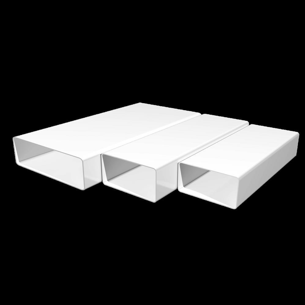 Воздуховод прямоугольный 60х204, L=2м, шт