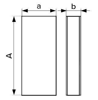 Воздуховод прямоугольный 60х204, L=2м, шт, фото 2