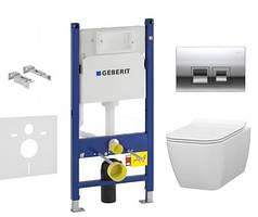 Комплект инсталляции Geberit 458.103.00.1 IDEVIT Halley (SETK3204-2616-001-1-6000)