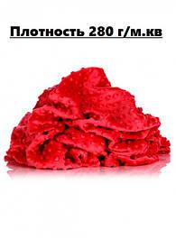 Плюш MINKY DOTS (плот. 280г/м.кв)