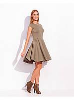 Платье с потайной молнией по спинке