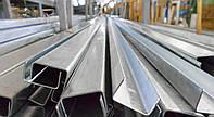 Швеллер стальной гнутый 80х40х3