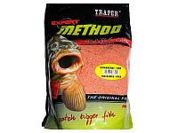 Прикормка Traper Method Mix Strawberry - Fish Клубника-Рыба 1кг
