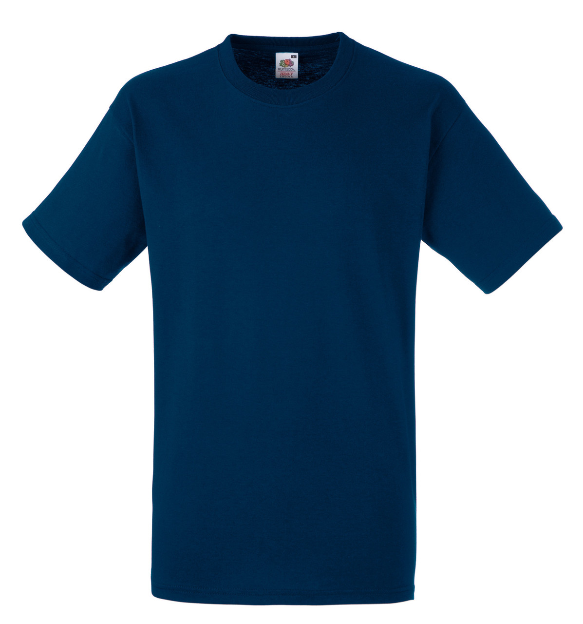 Мужская футболка Плотная Fruit of the loom Тёмно-синий 61-212-32 XL