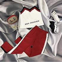 Стильный костюм майка и брюки, размер S-M, M -L, Турция, фото 3