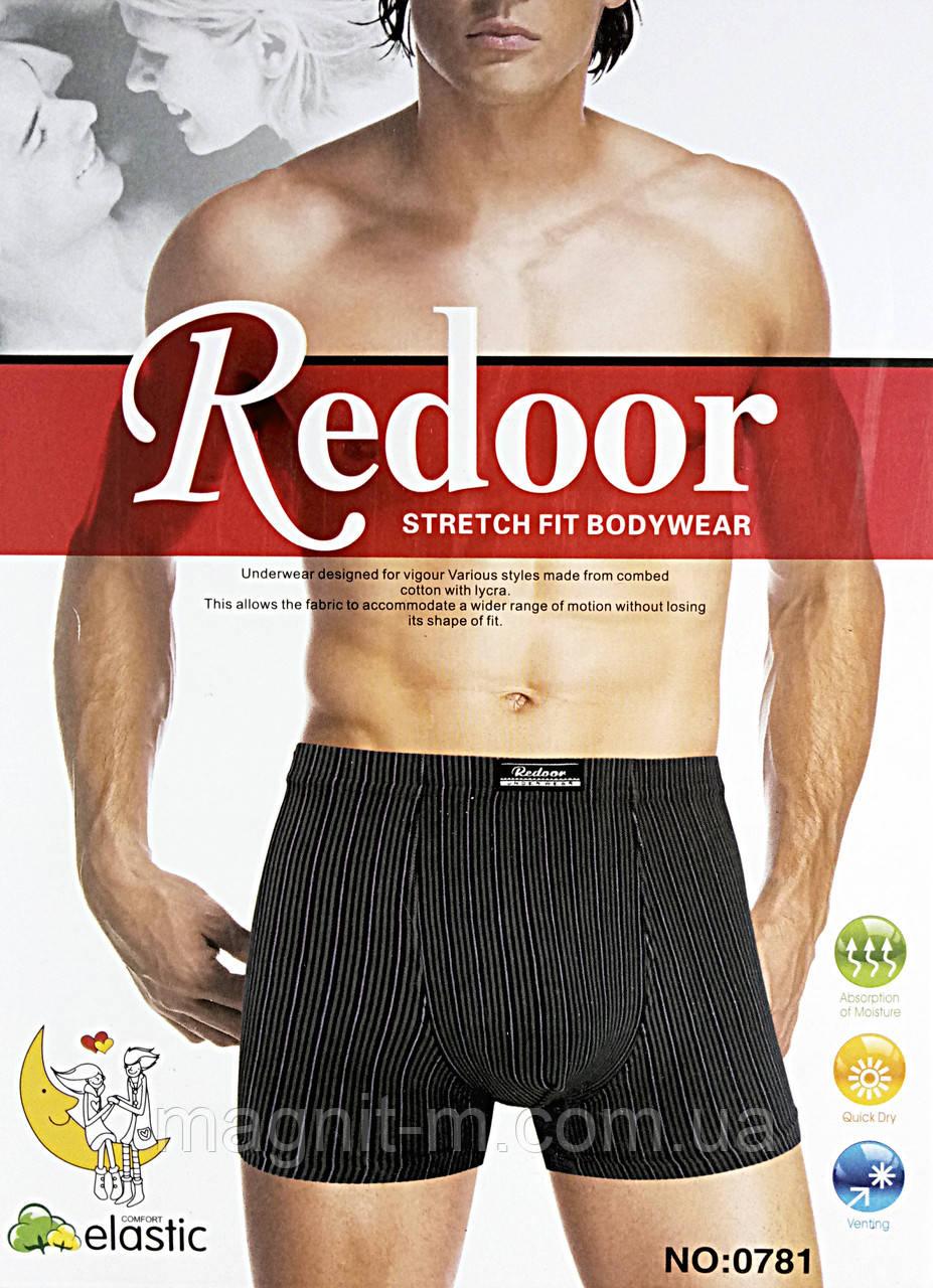 """Трусы мужские, боксеры """"Redoor"""". Хлопок. Полоска. №0781."""