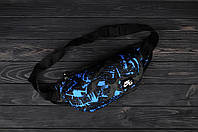 Поясная сумка Найк Аир синий