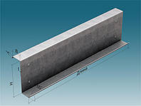 Профиль гнутый Z-образный 80х50х4 мм ГОСТ 13229-78