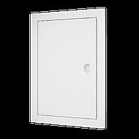 Люк-дверца ревизионная, с ручкой 122х122/98х98 мм, шт