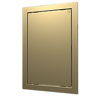 Люк-дверца ревизионная, нажимной сhampagne 218х218/196х198 мм, шт