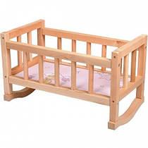 Ліжечко для ляльки дерев'яне (44*24*28)  ВП-002 Вінні Пух