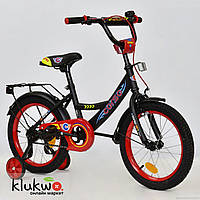 """Велосипед 16"""" дюймов 2-х колёсный С16210  """"CORSO""""  Черный"""