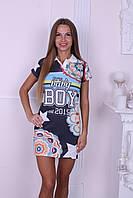 """Платье женское из трикотажа """"Boy"""""""