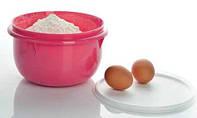 Замесочное блюдо 2 л Tupperware розовое