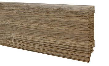 Плинтус МДФ дуб натуральный 80х19 мм, шт, фото 2