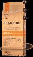 Сухой корм для собак Grandorf Junior ягненок с рисом 1 кг (7044)