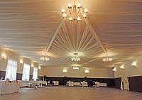 """Декорирование потолков тканью. Потолок """"Версаль"""". Цена с материалом."""