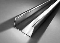 Профиль С-образный оцинкованный 50х25х15х1,5 мм гнутый