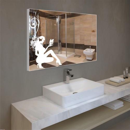 Зеркало настенное 600х800 со светодиодной подсветкой, фото 1