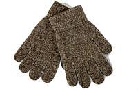 Вязаные перчатки Корона Детские  5002S-11 коричневые