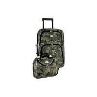Комплект RGL 773 малый чемодан и кейс (узор Карта)