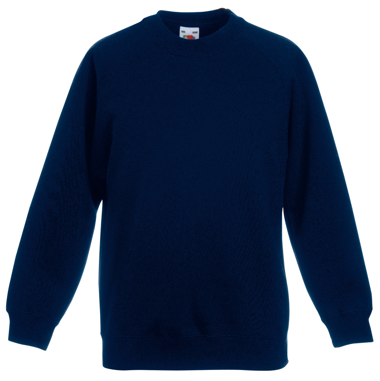 Детский классический реглан Глубокий тёмно-синий Fruit Of The Loom 62-039-AZ 3-4