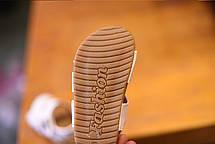 Сандали для мальчиков на полиуретановой подошве белые, фото 3
