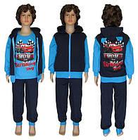 Распродажа детских спортивных костюмов на байке МАКВИН для мальчиков!