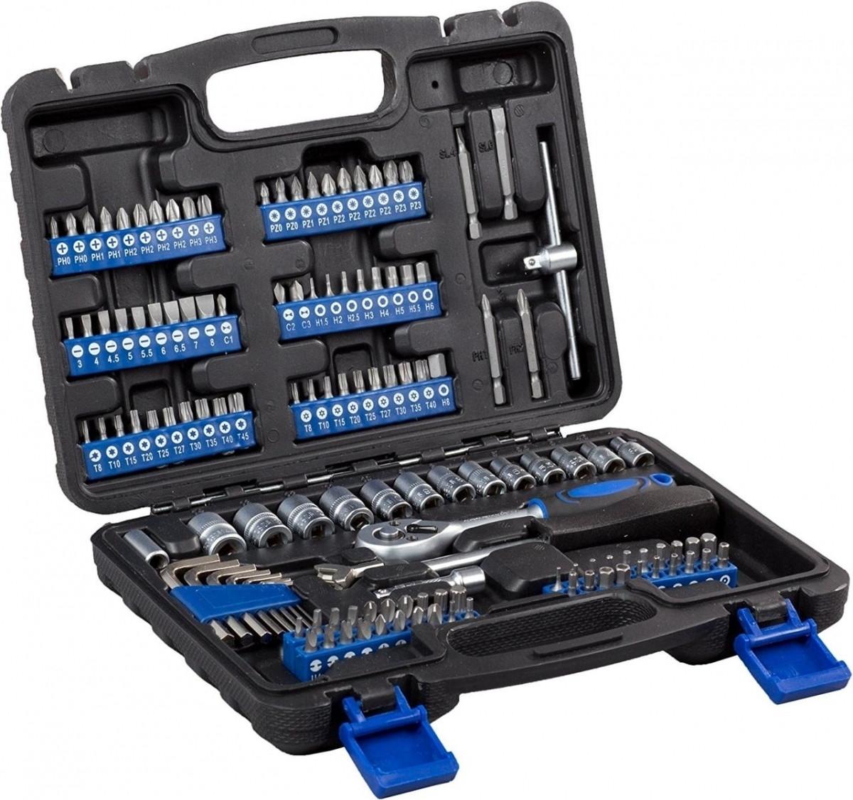 Набор инструментов Atrox AY0416 1/4 132 предмета