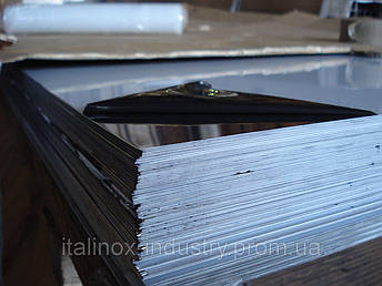Нержавеющий лист 3,0 Х 1000 Х 2000 зеркальный ВА, фото 2