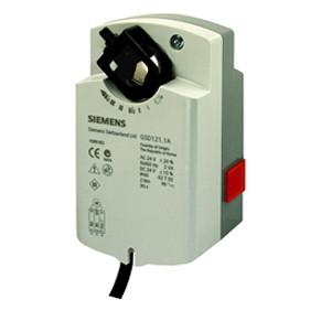 Электропривод SIEMENS cерии GSD321.1А, 2-точечный, раб. напряжение 230В, время сраб. 32 с.