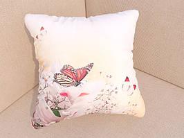 Подушки с фотопечатью бабочки