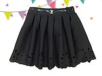 Шольная юбка перфорированая для девочки Перфорация 2