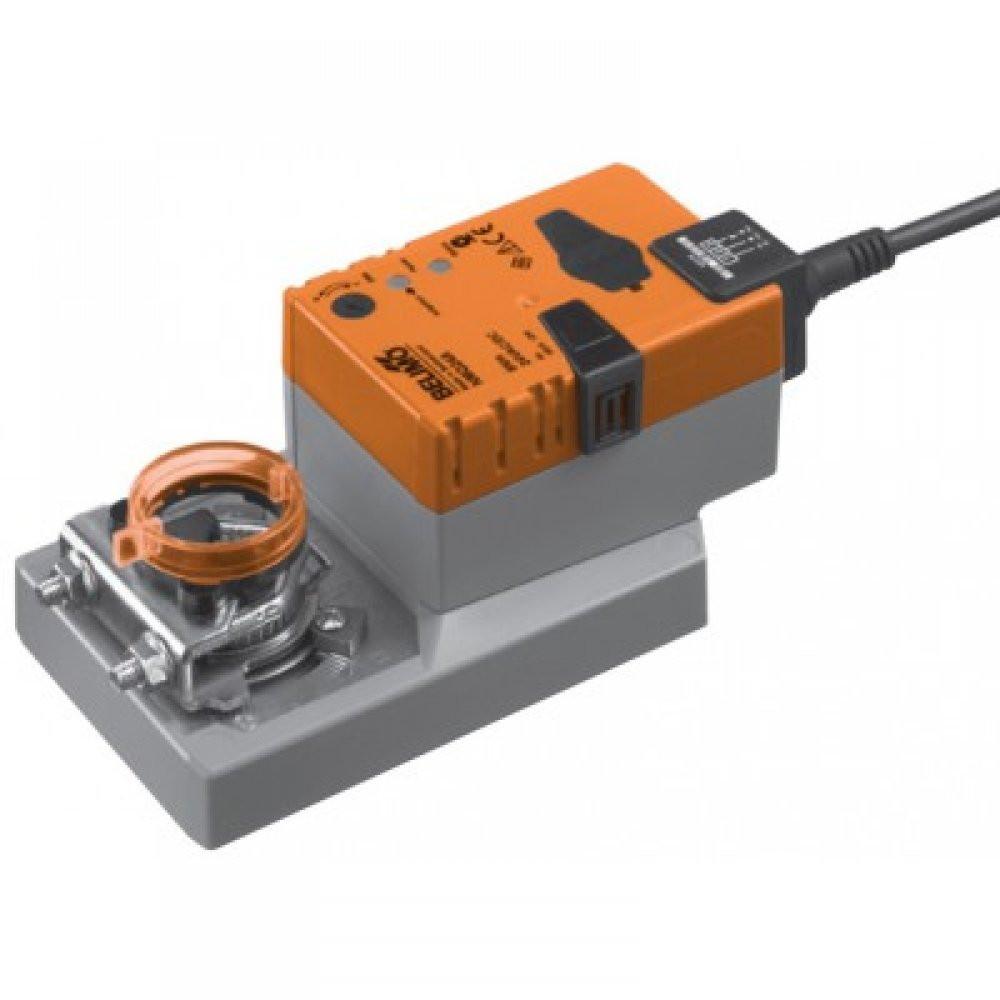 Электропривод BELIMO Серии NMQ24A-SR, 24 В AC/DC, аналоговое управление 0…10 В, 4 с / 90град
