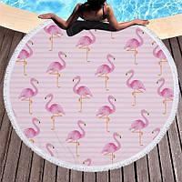 Пляжный коврик Фламинго, фото 1