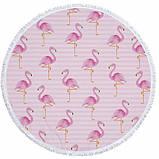 Пляжный коврик Фламинго, фото 3