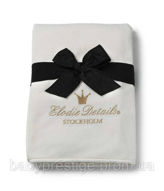 Детский плед Elodie Details Pearl Velvet Blanket - Vanilla White