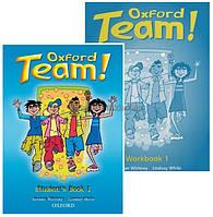 Английский язык / Oxford Team / Student's+Workbook. Учебник+Тетрадь (комплект), 1 / Oxford