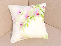 Фотоподушки белая орхидея