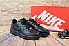 Мужские Черные кеды Nike AirForce 9153-2