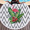 Пляжный коврик Тропический Фламинго