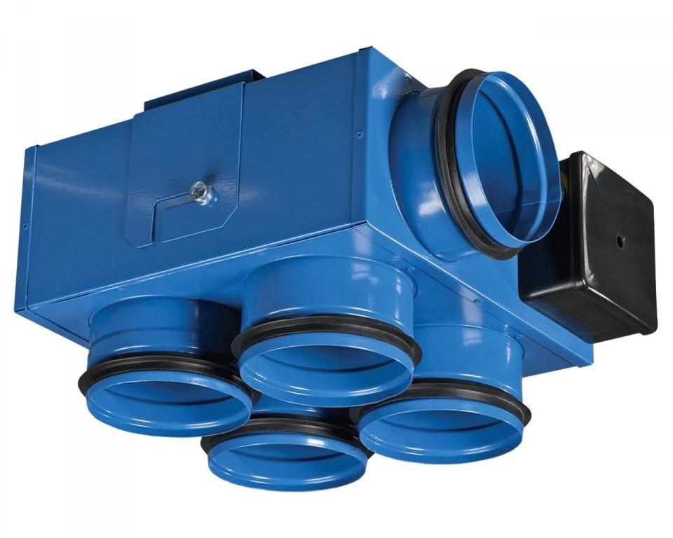Канальный центробежный вентилятор Вентс ВКП 80/80*4 мини