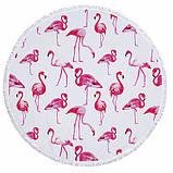 Пляжный коврик Розовый Фламинго, фото 2