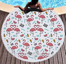 Пляжный коврик Фламинго Summer